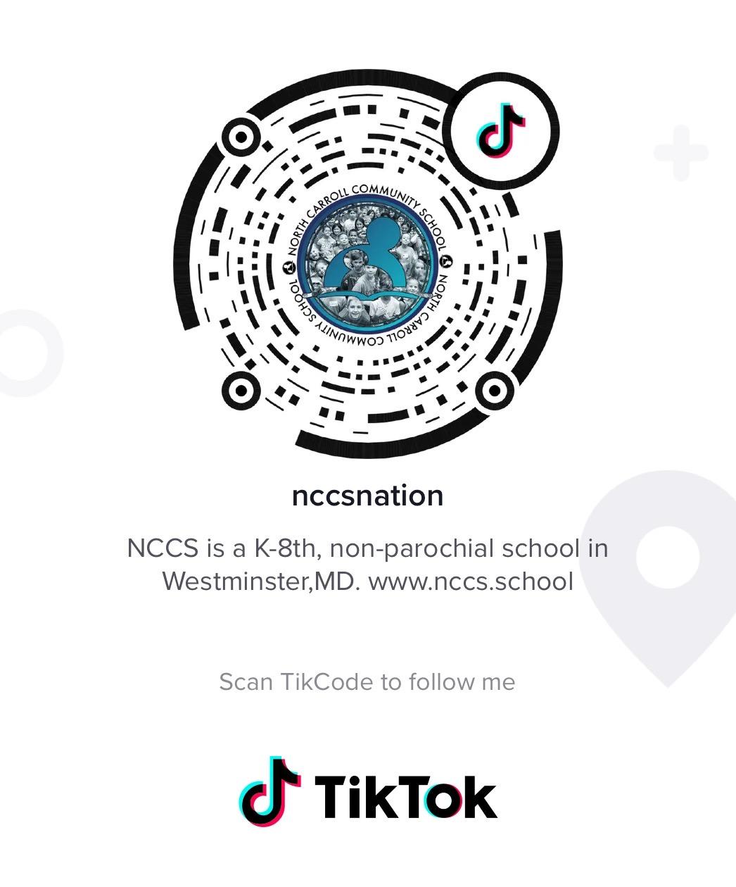 Follow NCCS on TikTok